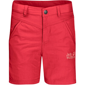 Jack Wolfskin Sun Pantaloncini Bambino, rosso